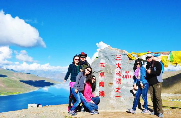 拉萨+林芝冰湖、雅鲁藏布大峡谷+羊湖、日喀则+纳木错8晚9日游